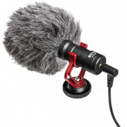BOYA MM1 Microphone hyper compact Cardioide a condensateur