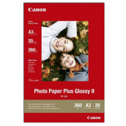 CANON Pack de 1  Papier photo plus 260g/m2 - PP-201 -  A3