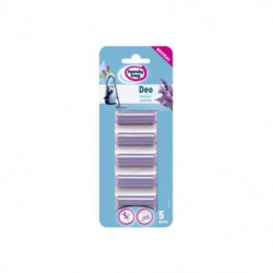 HANDY BAG 214334 Pack de 5 parfums pour aspirateurs traîneaux