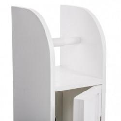 Meuble dérouleur papier toilette - L 18 cm