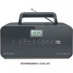 MUSE M-28 DG  Radio portable - CD - USB - Noir
