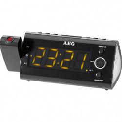 AEG MRC 4121 Radio Réveil + Projecteur Pivotant 180°