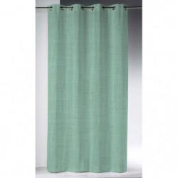 Rideau a oeillets 140x280 cm en Lin lavé - Jade