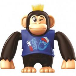 YCOO - Chimpy le Singe - 15 CM - Bleu