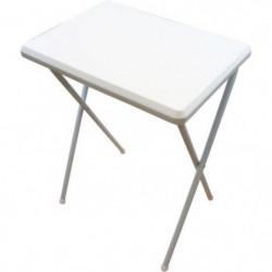 HIGHLANDER Table Camping Pliante Blanc