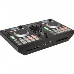 IBIZA SOUND 15-2216 Régie DJ avec table de mixage 2 canaux
