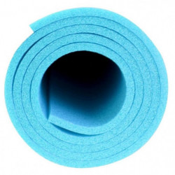 AVENTO Tapis de sol fitness / yoga mousse 7 mm - Bleu