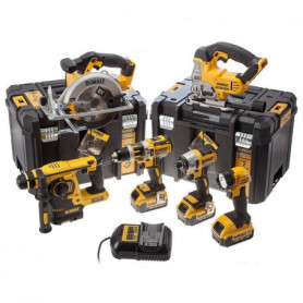 DEWALT Pack de 6 machines DCK699M3T