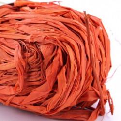 HEYDA Raphia végétal - Orange - 50g