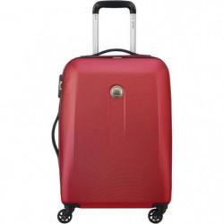 AIRSHIP Valise Trolley Cabine Slim 55 Cm 4 Roues Rouge