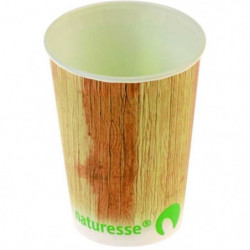 NATURESSE - N082-12 - 12 Gobelets - Cellulose + PLA