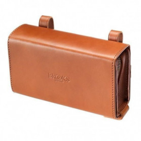 BROOKS Sacoche D-Shaped Saddle Bag - Miel