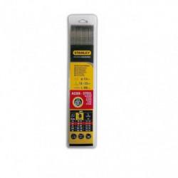 STANLEY 460825  Lot de 50 électrodes rutiles acier - Ø 2,5 m