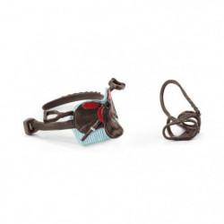 SCHLEICH - Figurine 42489 Selle & bride Horse Club Hannah & Cayenne