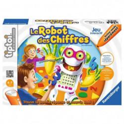 TIPTOI Jeu Interactif et Educatif Le Robot des Chiffres