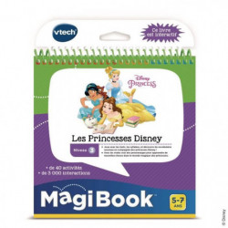 VTECH - Livre Interactif Magibook - Les Princesses Disney
