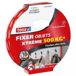 TESA Ruban adhésif Double face Xtreme - 500Kg  - 5m x 19mm