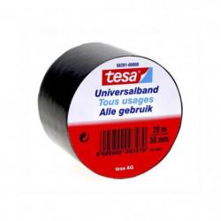 TESA Ruban PVC tous usages -  20m x 50mm - Noir