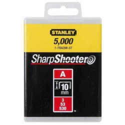 STANLEY Agrafes 10mm type A 1000 pieces