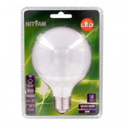 NITYAM Ampoule globe Led E27 10W équivalent a 60W