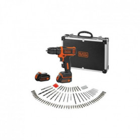 BLACK & DECKER Perceuse visseuse sans fil 10,8 V