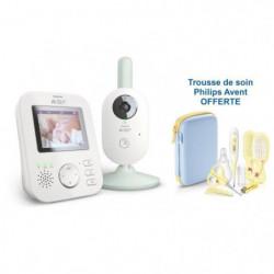 PHILIPS AVENT Lot Babyphone vidéo SCD831/26  + trousse de soin