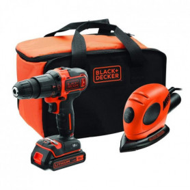 BLACK&DECKER Kit BDK200AS1S-QW - Perceuse Lithium
