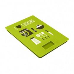 FRANDIS Balance de cuisine rectangulaire digitale - Vert