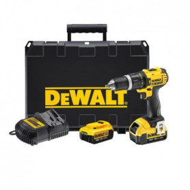DEWALT Perceuse visseuse a percussion avec 2 batteries