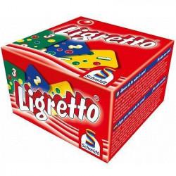 SCHMIDT AND SPIELE Jeu de cartes - Ligretto - Rouge