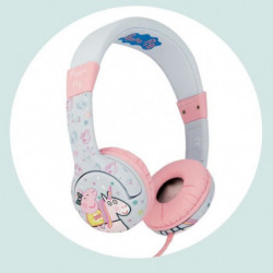 Casque Peppa Pig Unicorn Peppa Kidsafe