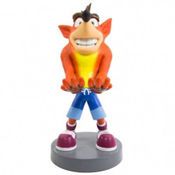 Figurine support et recharge manette Cable Guy Crash Bandicoot