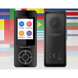 LEXIBOOK - Interpretor - Traducteur vocal basé sur l'intelligence