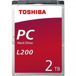 TOSHIBA - Disque dur Interne - L200 - 2To - 5 400 tr/min