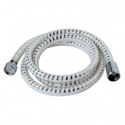 Flexible de douche Biflex 1,50m blanc / chromé