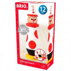 BRIO - 30230 - Clown A Empiler 60 Ieme Anniversaire