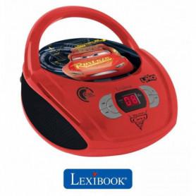 LEXIBOOK - CARS  - Radio Lecteur CD Enfant