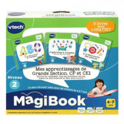 VTECH - MAGIBOOK - Mes apprentissages de Grande Section