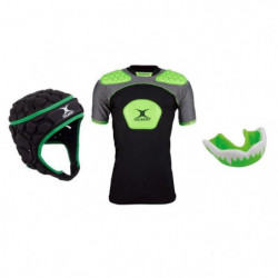 GILBERT Pack protection rugby adulte XL - Casque + épauliere
