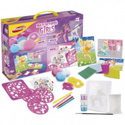 JOUSTRA Coffret Multi-jeux Girls - 5 ans - Fille