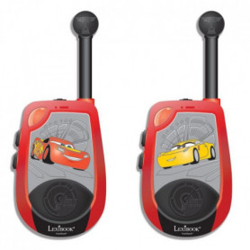 CARS - Paire de Talkies Walkies Enfant - Portée 2kms