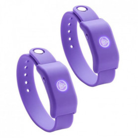 SOUNDMOOVZ Bracelet Musical Violet