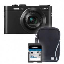 PANASONIC LF1 noir + sacoche + carte 8Go -  Appareil photo compact