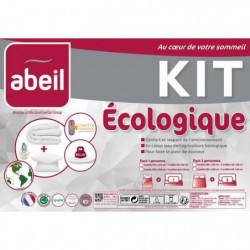 ABEIL Pack ECOLOGIQUE COTON BIO - 1 Couette 220x240cm