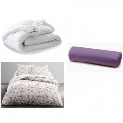 TODAY Pack complet CHAMPAGNE 220x240cm - Couette + Parure