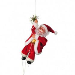 Pere Noël grimpeur 20 cm rouge