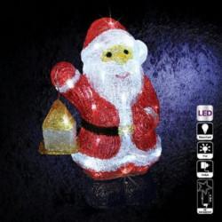 Décoration Lumineuse Extérieure Pere Noël Acrylique Couleur