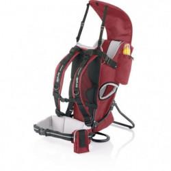 BREVI - ROCKY Porte bébé dorsal - couleur rouge