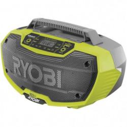 RYOBI Radio de chantier stéréo Bluetooth 18Volts