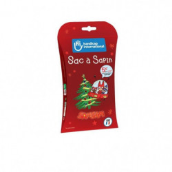 HANDICAP INTERNATIONAL Sac a sapin de Noël 100% biodégradable